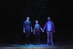 "Resident Company Members Danny Gavigan, Beth Hylton and Clinton Brandhagen in ""The Understudy"" at Everyman Theatre."