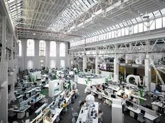 economia 9 Inspirational Open Office Workspaces