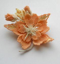 Цветок Сакуры | biser.info - всё о бисере и бисерном творчестве