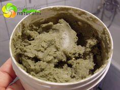 pasta do zębów zrób to sam DIY glinka zielona olej kokosowy drzewa herbacianego