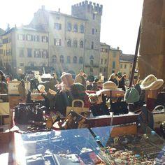 Arezzo Tuscany Antique Market
