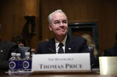Tom Price bought stocks and took official action to protect...