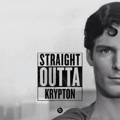 """Image about superman in """"Straight Outta"""" Heroe Edition by Silvana Fernandes Superman Movies, Superman Family, Dc Movies, Superman Man Of Steel, Superman Wonder Woman, Batman And Superman, Action Comics 1, A Comics, Clark Kent"""
