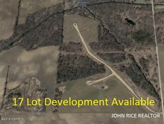 Prime Development Opportunity with 17 lots, road, and more. This 35+ acre site condo community has been approved under the name of Wood Creek Farms Condominiums and features 15 multi-acre sites plus, 2 additional lots bordering the development. Each site offers large building envelopes, well designed open space and each site perks! With Woodland Creek bordering the East and Little Thornapple River bordering the North, this development offers amazing … Follow link for more information.