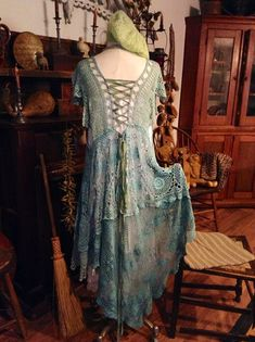 Luv Lucy crochet dress Lucy's Sea Siren  by TheVintageRaven, $235.00