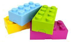 Małe pudełko LEGO® limonka - Little Room