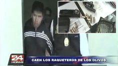 Policía Nacional captura a 'Los raqueteros de Los Olivos'