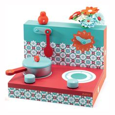 Djeco Toy Cooker Red #christmasgifts #kidsgifts #kidschristmas