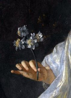 Portrait of Princess Louisa Maria Theresa Stuart (detail), 1700, formerly attributed to François de Troy (1645–1730)