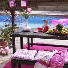 ¡Bienvenido JUNIO! ¡Ya tenemos ganas de disfrutar en la piscina! ¿Os gusta este rincón #homelovers?
