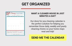 Step-by-Step Guide To Weekly House Cleaning - A Mess Free Life