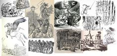 All illustrations from The Chronicles of Narnia