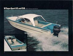 Starcraft Super Sport Boat Boat Canopy Vintage Boats Classic Boats
