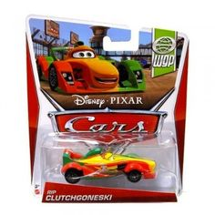 Disney / Pixar CARS MAINLINE 1:55 Die Cast Car Rip Clutchgoneski [WGP 8/17]
