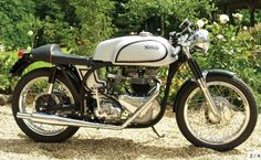 This early Triton started life in London in 1956, I have a feeling that if it could talk it would tell tales of the 59 Club, the Ace Café, Mods, Rockers....