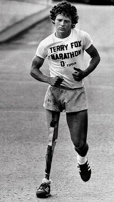 32 years later, Terry, you are still making a difference. You will never be forgotten! Thank you for your courage and determination. You legacy will live on! Marathon of Hope <3