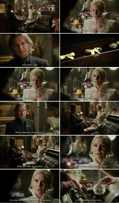 """""""Do whatever you want with the rest of the world. Storybrooke will be mine"""" Snow Queen and Rumple - 4 * 7 """" Snow Queen."""""""