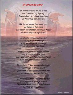 gedicht voetstappen in het zand - Google zoeken