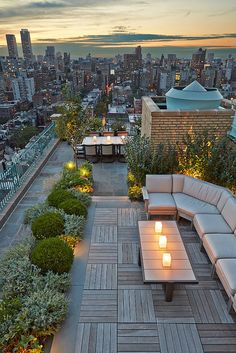 Rooftop backyards #techobloc | Visit www.homedesignideas.eu for more inspiring images and decor inspirations
