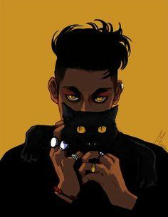 Magnus x The black cat