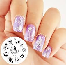 Stamp the image on your nail with a gentle rolling motion. The image is transferred on your. so that the nail polish can be transferred by the stamper. Apply the nal polish to desired image within a plate. Nail Art Stamping Plates, Nail Stamping, Sailor Moon Nails, Snowflake Nail Art, Image Plate, Nail Patterns, Pretty Nail Art, Dipped Nails, Fire Nails