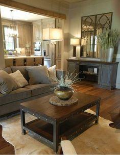 Rustic Living Room Decor Ideas_18