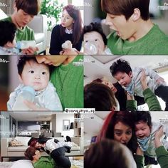 Baby Gook emergency Couple
