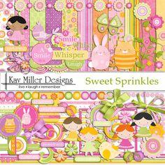 Sweet Sprinkles Page Kit