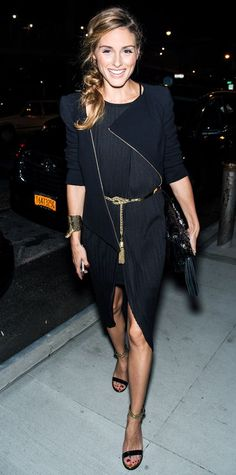 Olivia Palermo at NYFW via InStyle Mag