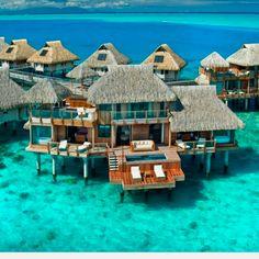 Paradise -Bora Bora Hilton <3