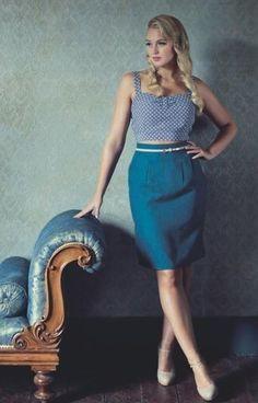 Free PDF pattern, GBSB Pencil skirt Skirt Patterns Sewing, Skirt Sewing, Peplum Dress, Sewing Projects, Bee, Pencil, Skirts, Rock, Dresses