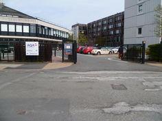 University Campus Gates Dilworth St