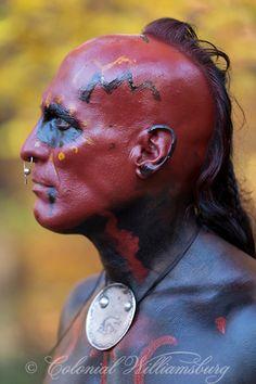A Shawnee warrior. Photo by David M. Doody