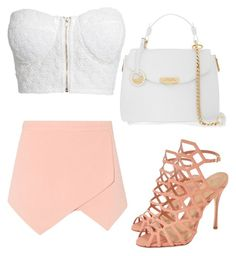 """Untitled #234"" by kewl-asf ❤ liked on Polyvore featuring Schutz, NLY Trend, Versace, women's clothing, women's fashion, women, female, woman, misses and juniors"