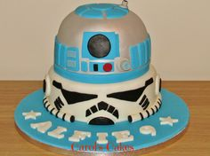 Starwars Stormtrooper / R2D2 cake