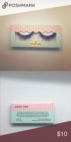 6d3727842ab Smoky Muse House of Lashes false eyelashes New in box! House of Lashes  Makeup False Eyelashes