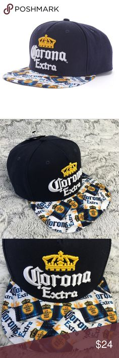 💫NWT🍂Winter men's Corona SnapBack caps🦆 New Men's Corona SnapBack Cap in OSFA.  Brand new w Tags, retail: $24, saves you $2 in tax.  Priced to sell... do not low ball.  Bundle to save. Corona Accessories Hats