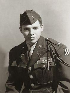 Audie Murphy won every valor award for his service in WW2. What a hero first, and second, a terrific actor.