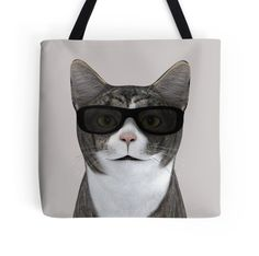 Coolest Tomcat In Town - Tote Bag