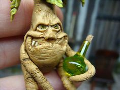 drunken mandrake - 12th scale  by georgia marfels