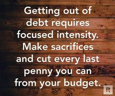 Focused intensity  #DaveDaily Money Quotes, Financial Literacy, Financial Peace, Financial Tips, Financial Organization, Debt Free, Money Hacks, Money Saving Tips, Money Tips