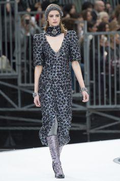 Chanel коллекция   Коллекции осень-зима 2017/2018   Париж   VOGUE