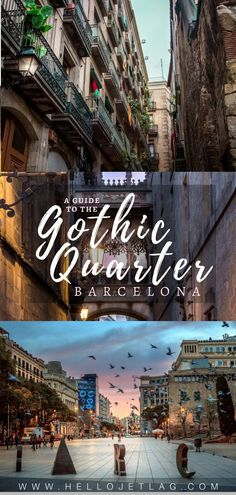 A guide to exploring Barcelona's Gothic Quarter in Spain // Discover the best things to do, which Barri Gotic restaurants to eat at, and find a Gothic Quarter hotel to fit any budget. travel Barri Gotic // A Guide to Exploring Barcelona's Gothic Quarter Spain Travel Guide, Europe Travel Tips, European Travel, Travel Destinations, Travel Hacks, Travel Essentials, Travel Ideas, Travel Photos, Mykonos