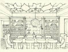 family room -- another view | sketches | pinterest