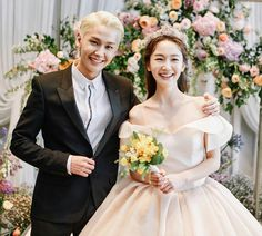 My beautiful girl . the best bride in may 👑✨ and her brother my heart 👉 💜😍😍😍😍💜 They're looks Amazing 😍😍😍💜 너무 예뻐요 😍 . Btob Ilhoon, Minhyuk, Thank You For Today, Writing Lyrics, Best Bride, In This House We, My Melody, K Idol, Her Brother