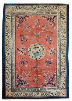 Cod. 8526 Pechino antico 256x182 tappeto cinese antique rug