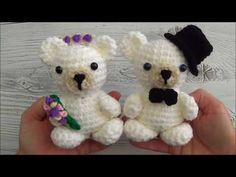 Crochet Your Own Mini Bear - YouTube Amigurumi Tutorial, Amigurumi Patterns, Crochet Patterns, Crochet Tutorials, Video Tutorials, Horse Crafts, Dog Crafts, Diy And Crafts, Sharon Ojala