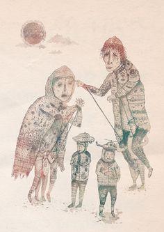puppet quartet by jamie.johnson, via Flickr