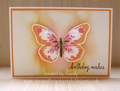 Stamp With Paper Panda: 1 Stamp Set 5 Ways - Watercolor Wings