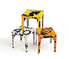 "Pop! Transit Table by Boris Bally (Metal Side Table) (20"" x 18"")"